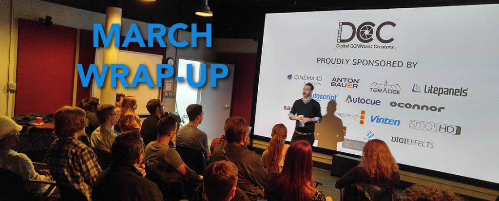 March meeting Wrap-Up